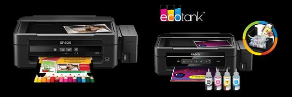Impressora-Epson-L2101 Impressora Epson L210 e Epson L355 - Impressoras indicadas na Sublimação