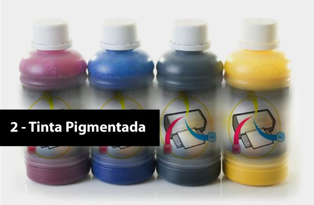 tinta pigmentada
