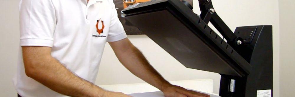 prensa termica camiseta