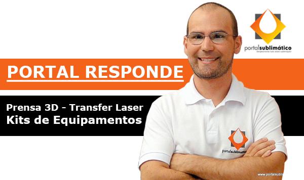Portal Responde Prensa 3D - Transfer Laser - Kits de Equipamentos