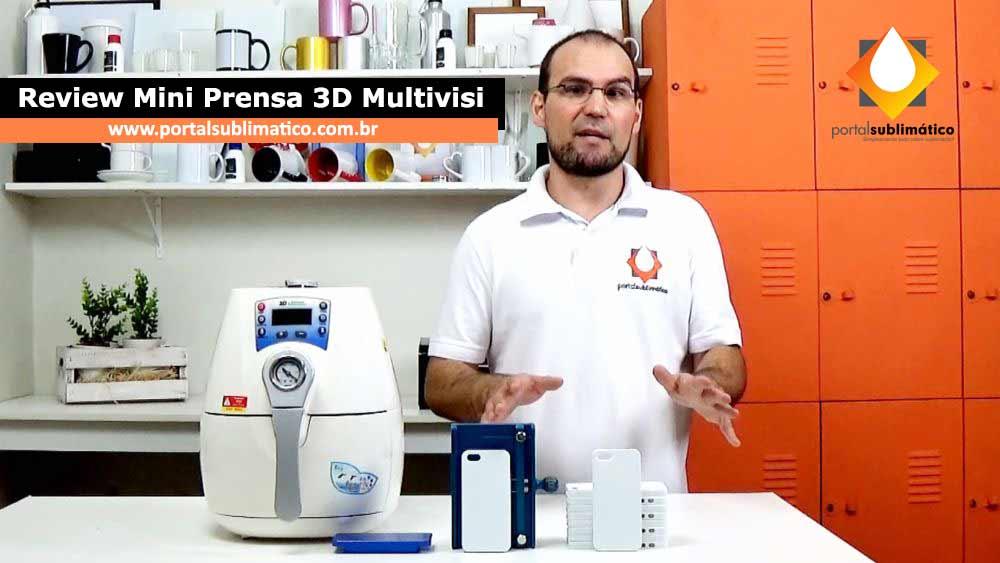 Mini Prensa 3D - Review