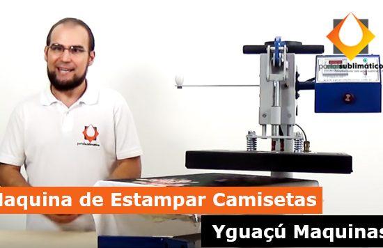 Maquina de Estampar Camisetas Yguaçú Maquinas