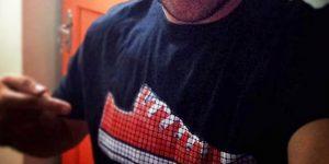 Sublimação em Camisetas Pretas