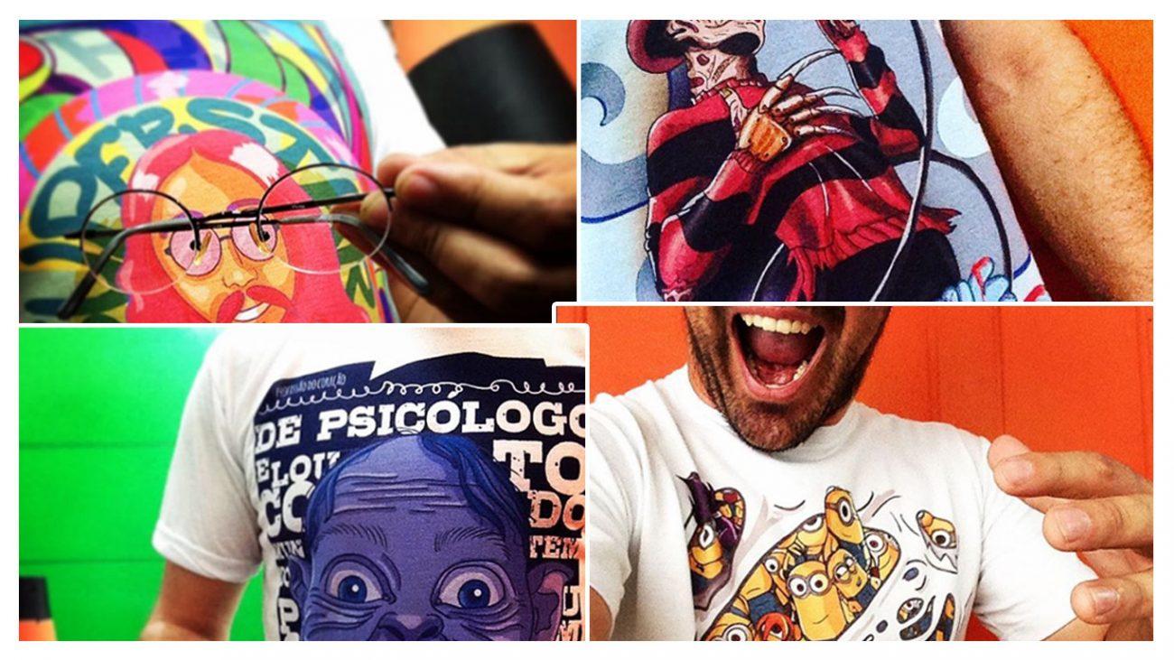Subimação em Camisetas - Portal Sublimatico