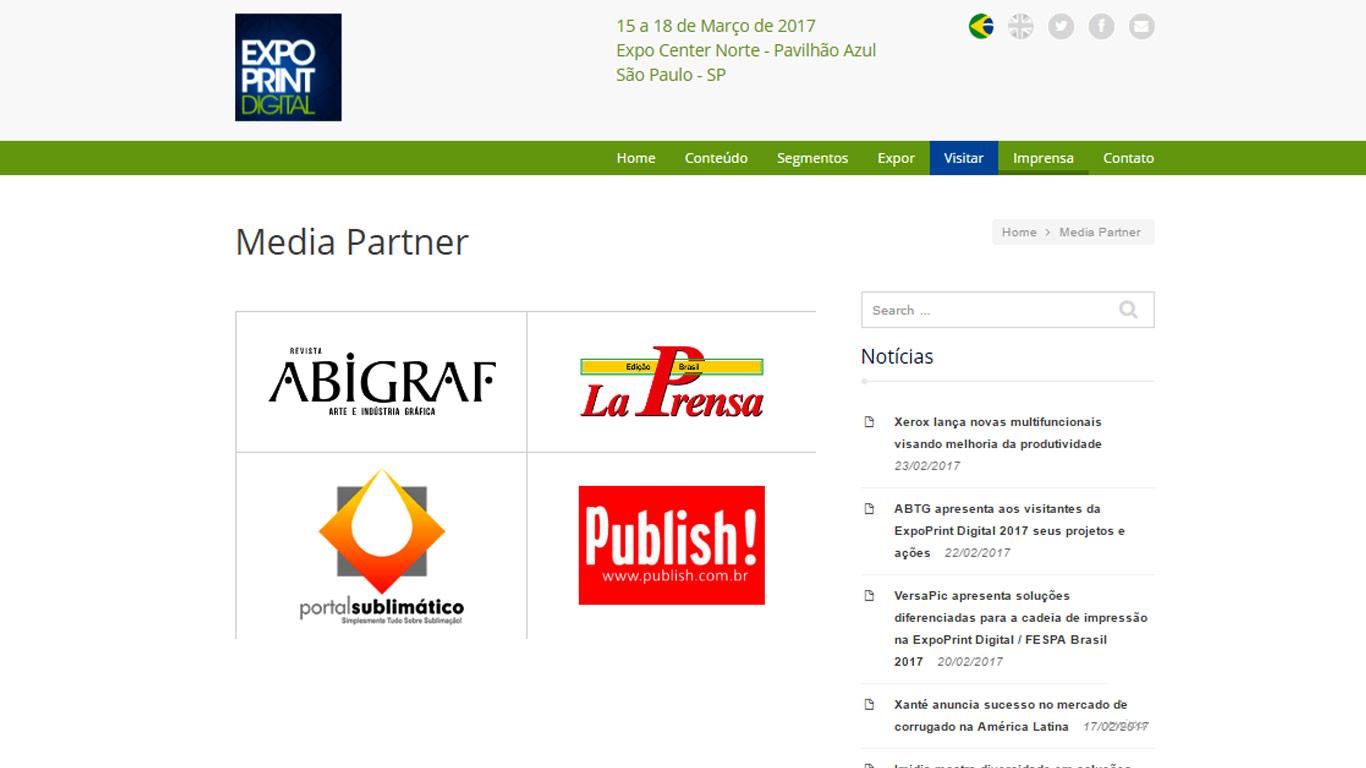 Parceiros de Mídia - FESPA Brasil