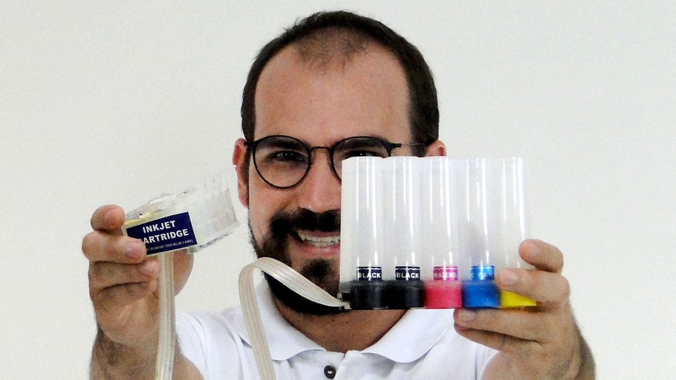 Colocar Tinta Sublimática nas Impressoras Epson - Portal Sublimático