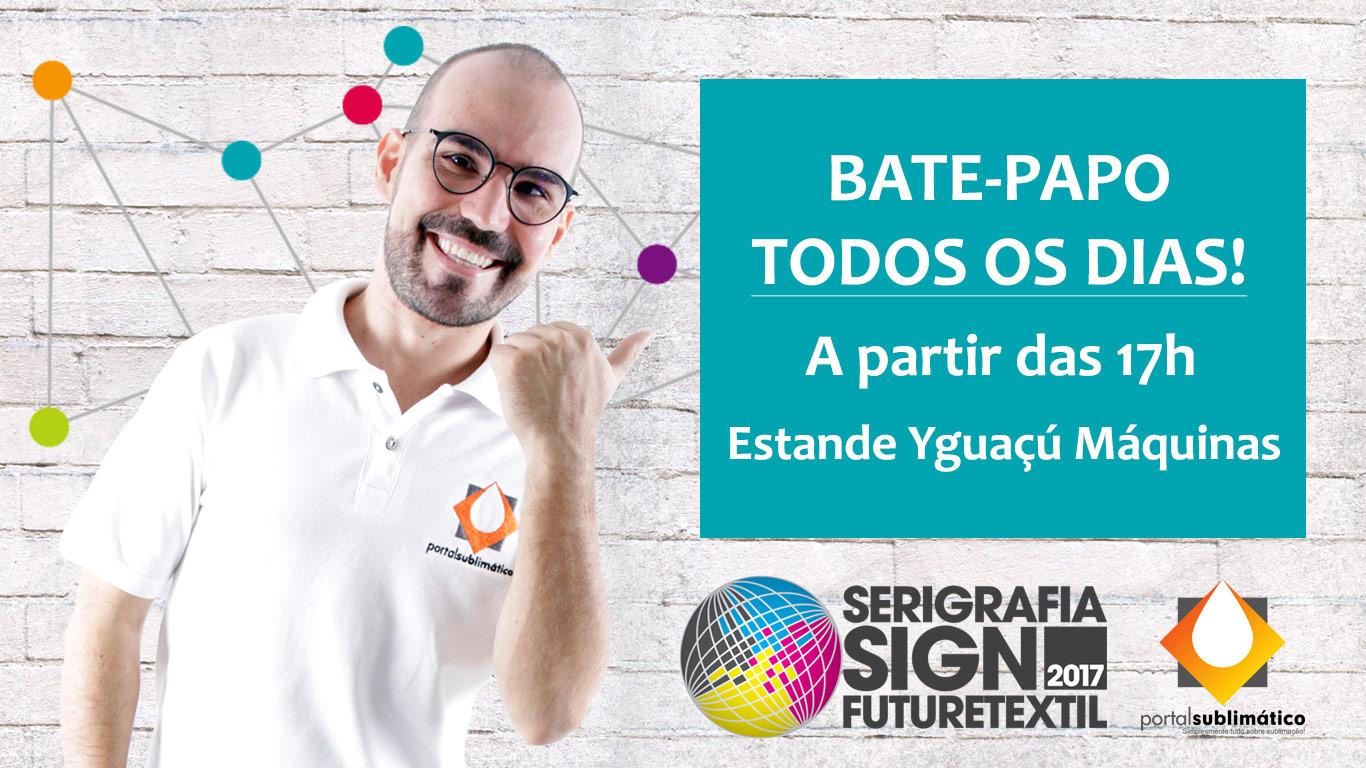 Bate-papo Portal Sublimático Serigrafia SIGN 2017